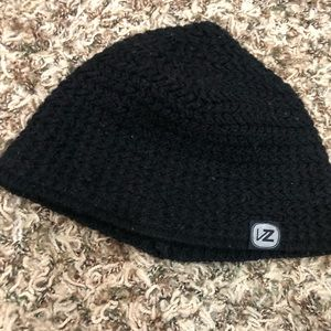 Accessories - Simple but stylish black woman's beanie.